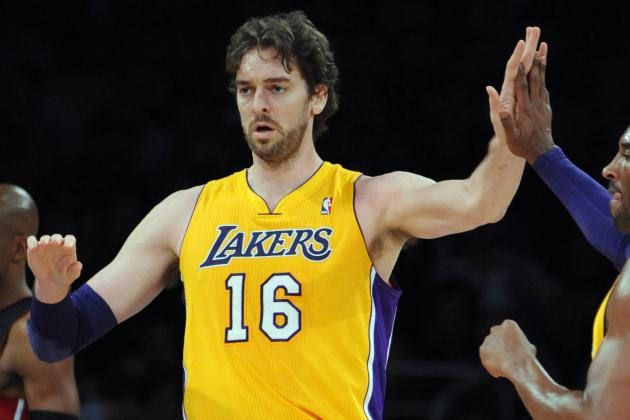 D'Antoni Considers Bringing Gasol off Bench