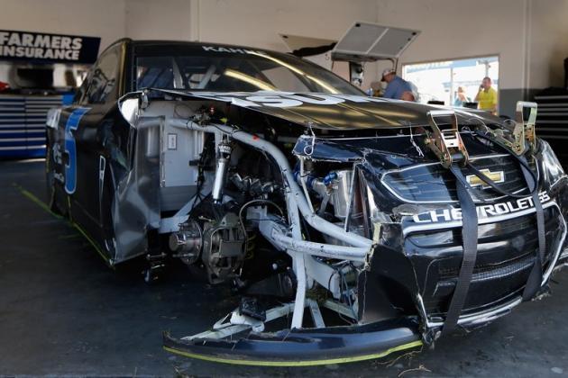 New Roof Flaps Help NASCAR Keep Cars Grounded