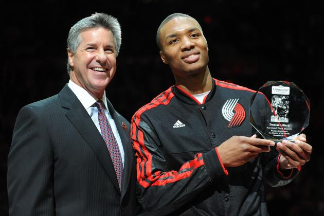 Damian Lillard Earns Gary Payton's Rookie of the Year Endorsement