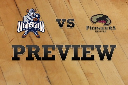 Utah State vs. Denver: Full Game Preview