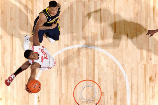 Highlight-Reel Dunks Come Naturally to Ohio State's Sam Thompson