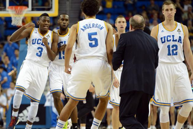 UCLA Men's Basketball Sees Second-Half Leads Wither Away
