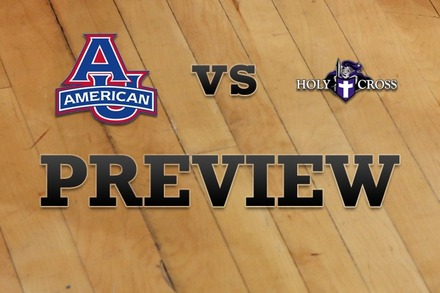 American University vs. Holy Cross: Full Game Preview