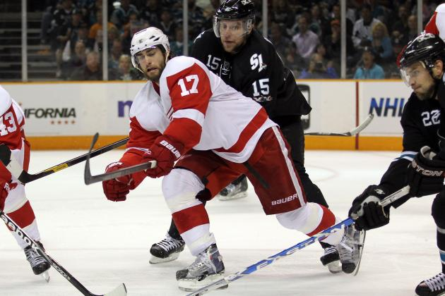 Patrick Eaves Never Doubted He Would Return to Detroit Red Wings