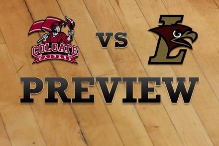 Colgate vs. Lehigh: Full Game Preview