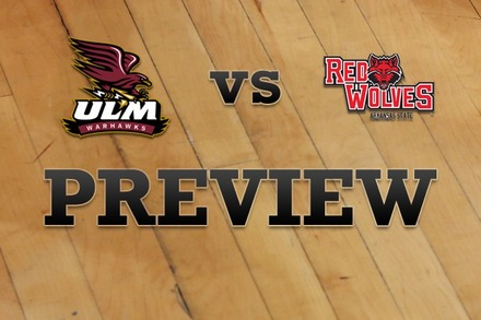 Louisiana-Monroe vs. Arkansas State: Full Game Preview