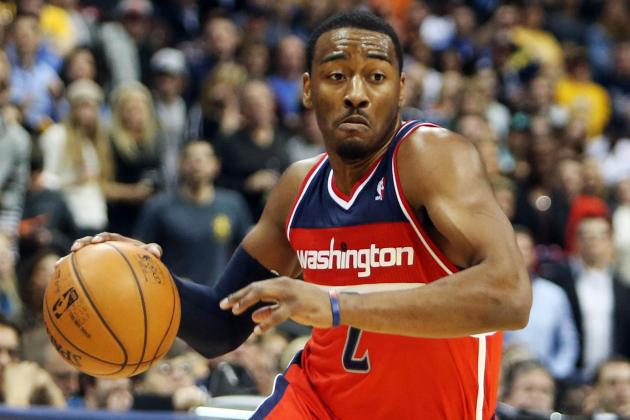 John Wall and Bradley Beal Carry Washington to Second Road Win, 112-108
