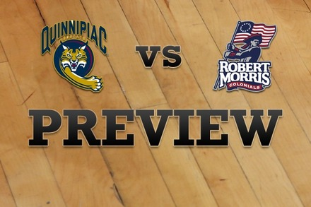 Quinnipiac vs. Robert Morris : Full Game Preview