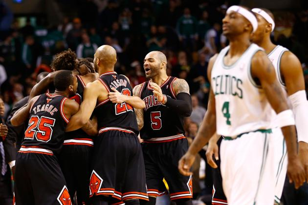 Bulls Beat Celtics 100-99 in OT