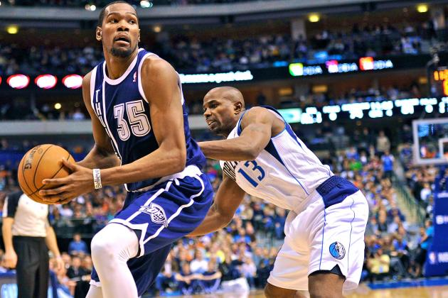 Kevin Durant's Career-High 52 Points Give OKC OT Win over Mavs