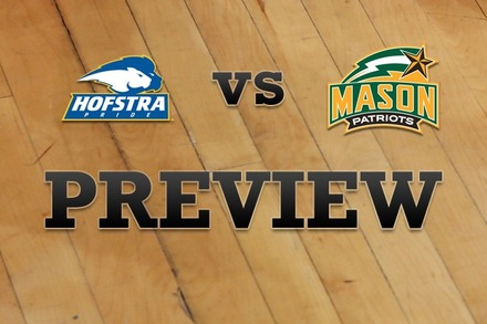 Hofstra vs. George Mason: Full Game Preview