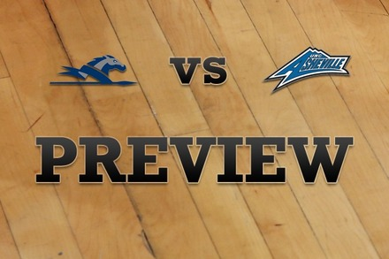 Longwood vs. UNC Asheville: Full Game Preview