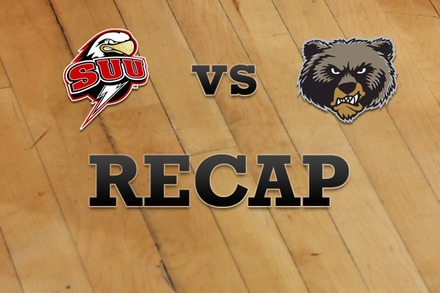 Southern Utah vs. Montana: Recap and Stats