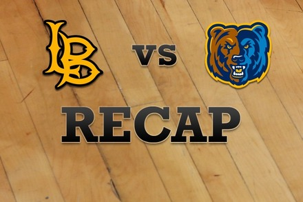Long Beach State vs. UC Riverside: Recap and Stats