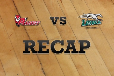 Marist vs. Loyola (MD): Recap and Stats