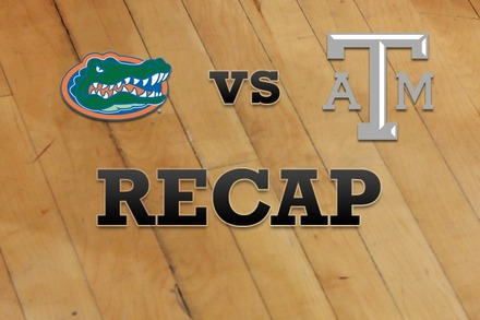 Florida vs. Texas A&M: Recap and Stats