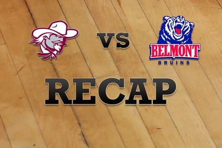 Eastern Kentucky vs. Belmont: Recap and Stats