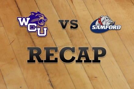 Western Carolina vs. Samford: Recap and Stats