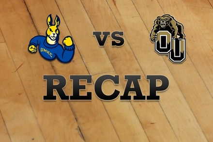 UMKC vs. Oakland: Recap and Stats