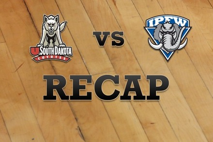 South Dakota vs. IPFW: Recap and Stats