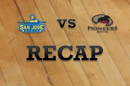 San Jose State vs. Denver: Recap and Stats