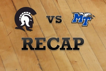 Ark-Little Rock vs. Middle Tenn State: Recap and Stats