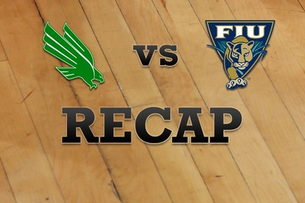 North Texas vs. FL Internationial: Recap and Stats