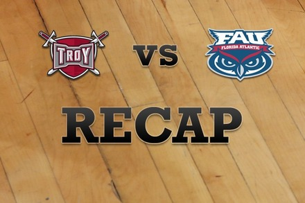 Troy vs. Florida Atlantic: Recap and Stats