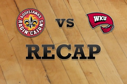 LA Lafayette vs. Western Kentucky: Recap and Stats
