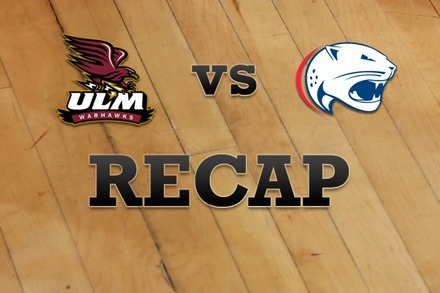 Louisiana-Monroe vs. South Alabama: Recap and Stats