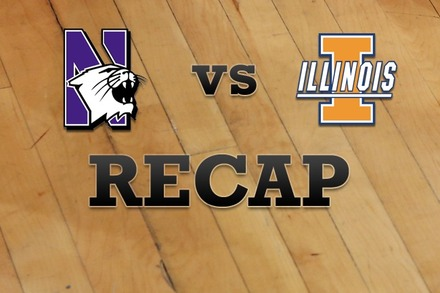 Northwestern vs. Illinois: Recap and Stats