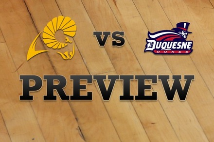 VCU vs. Duquesne: Full Game Preview