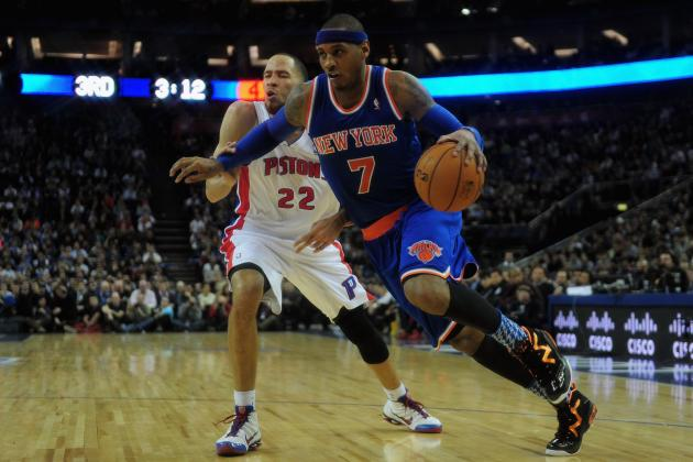 NY Knicks: Should Lack of Durability Factor into Melo's MVP Chances?