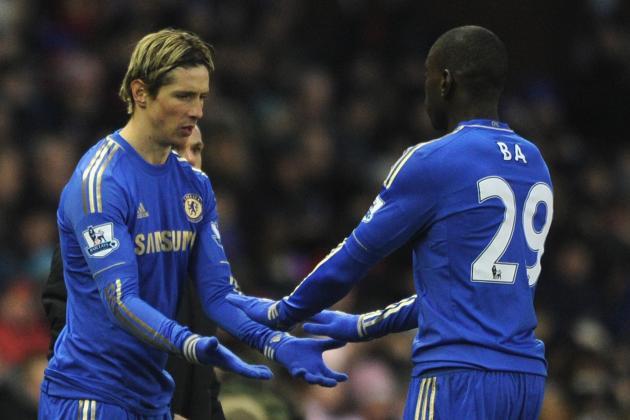Rafael Benitez Mulls Demba Ba Fernando Torres Pairing