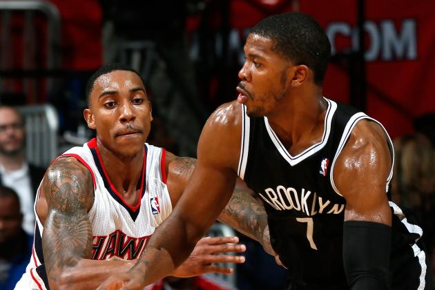 Joe Johnson Makes Strides as Nets Pull Away from Hawks, 94-89