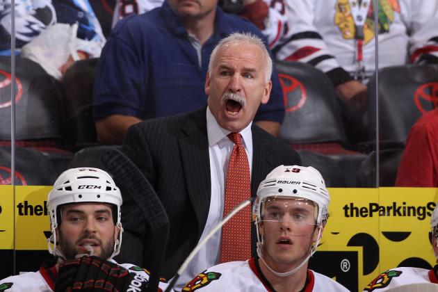 Chicago Blackhawks: Pressure to Win Is on Coach Joel Quenneville's Shoulders
