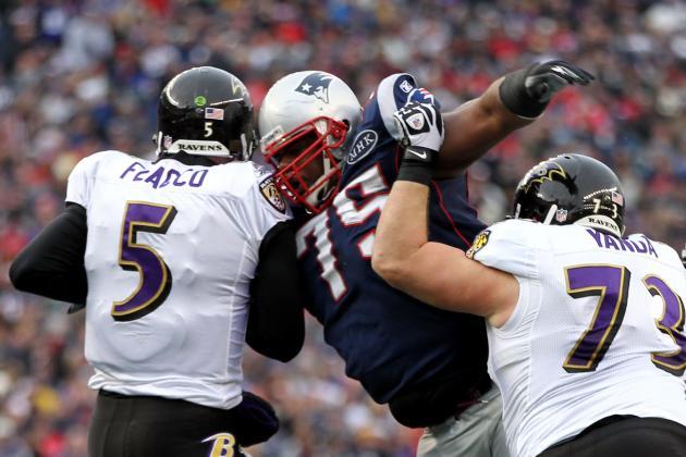 AFC Championship: Breaking Down Baltimore Ravens' O-Line vs. Vince Wilfork