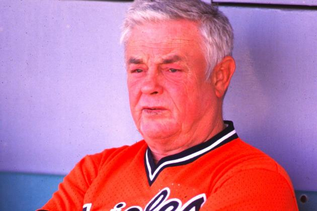 Hall of Fame Manager Earl Weaver Dies at Age 82