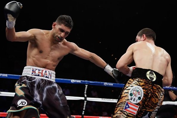 Khan-Garcia Rematch Targeted for the Fall