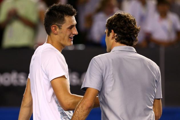 Ford: Aura of Federer Too Big for Tomic