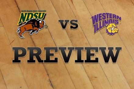 North Dakota State vs. Western Illinois: Full Game Preview
