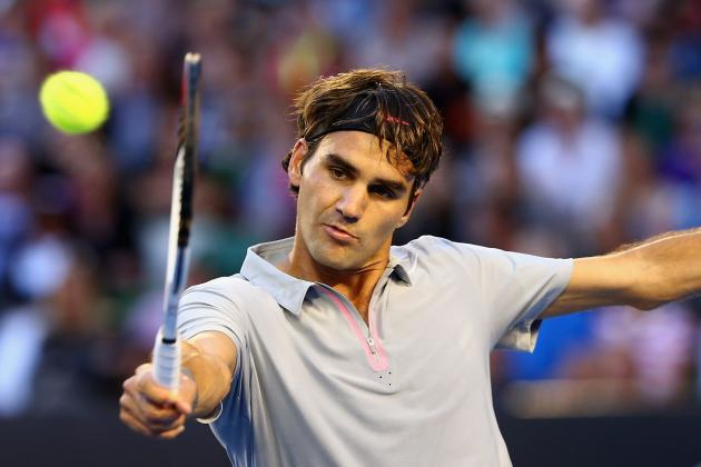 Roger Federer Is Man to Beat in Men's Australian Open Round of 16