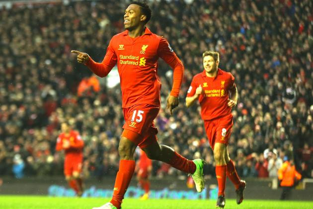 Liverpool 5-0 Norwich: Suarez, Sturridge Score in Big Reds Win