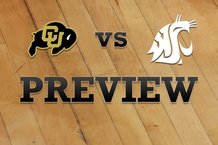 Colorado vs. Washington State: Full Game Preview