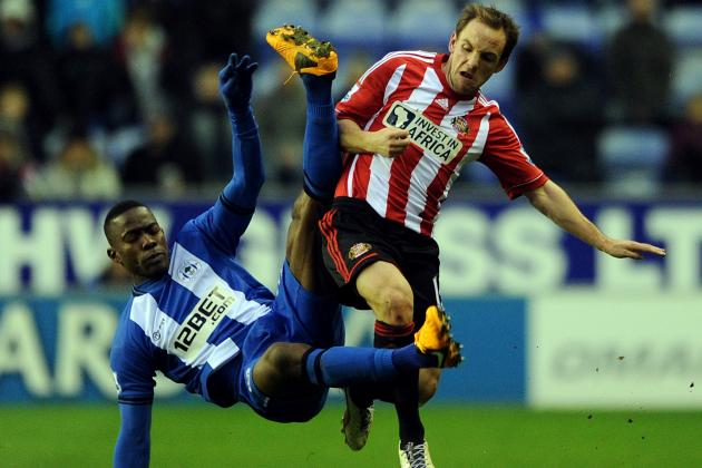 Wigan Athletic Undone by Alfred N'Diaye as Sunderland Steal Key Win