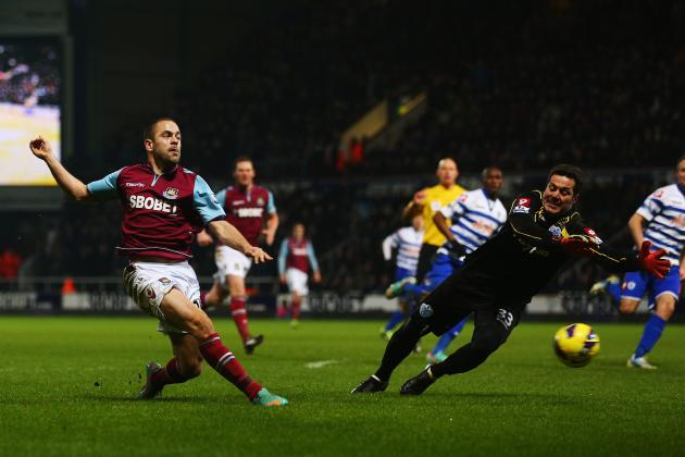 Joe Cole Was in the Right Place to Tap in West Hams Equalizer Following...