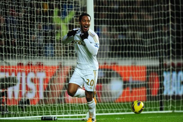 Swansea City's Jonathan De Guzman Sinks Stoke in Second-Half Rout