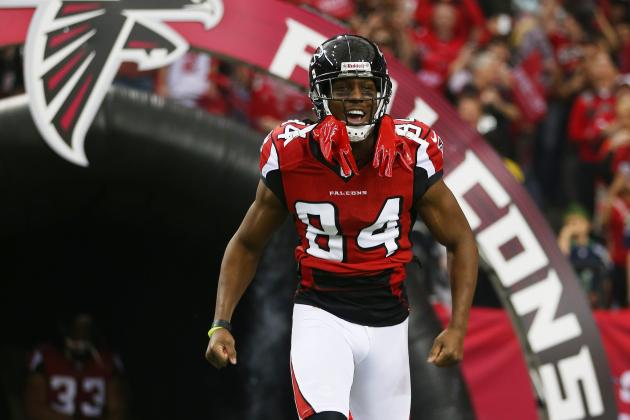 Roddy White of Atlanta Falcons to 49ers D: Don't Miss