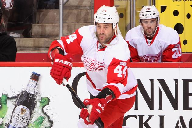 Todd Bertuzzi to Miss Several Weeks with Mono