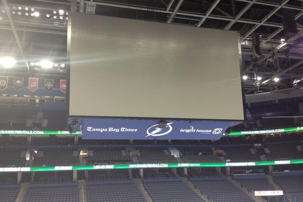 Tampa Bay's New Scoreboard Is Dallas Cowboys-sized